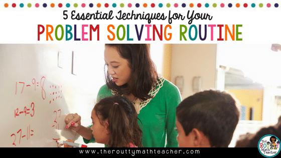 Blog Title: Five Essential Problem Solving Techniques for Your Problem Solving Routine