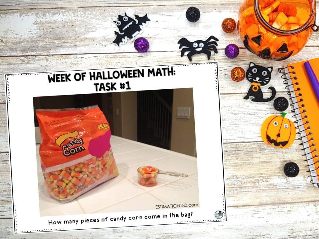 Halloween Math Task #1: Estimation 180