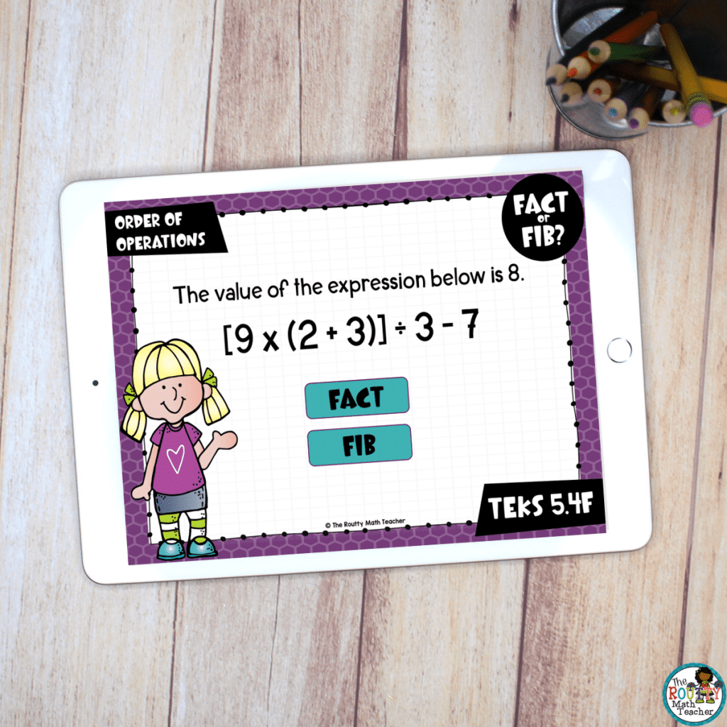 This is an example of digital task cards.