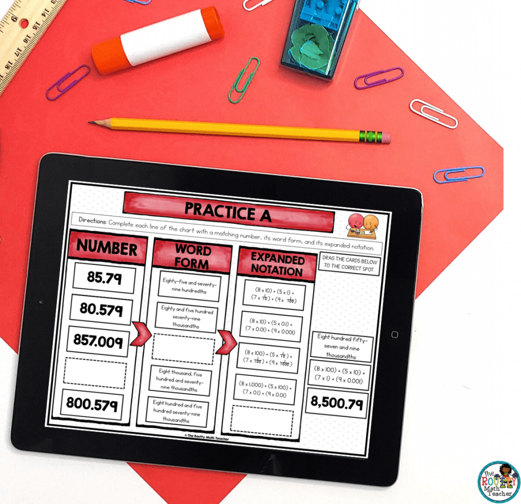Digital activities include a wide variety of activities such as digital task cards.