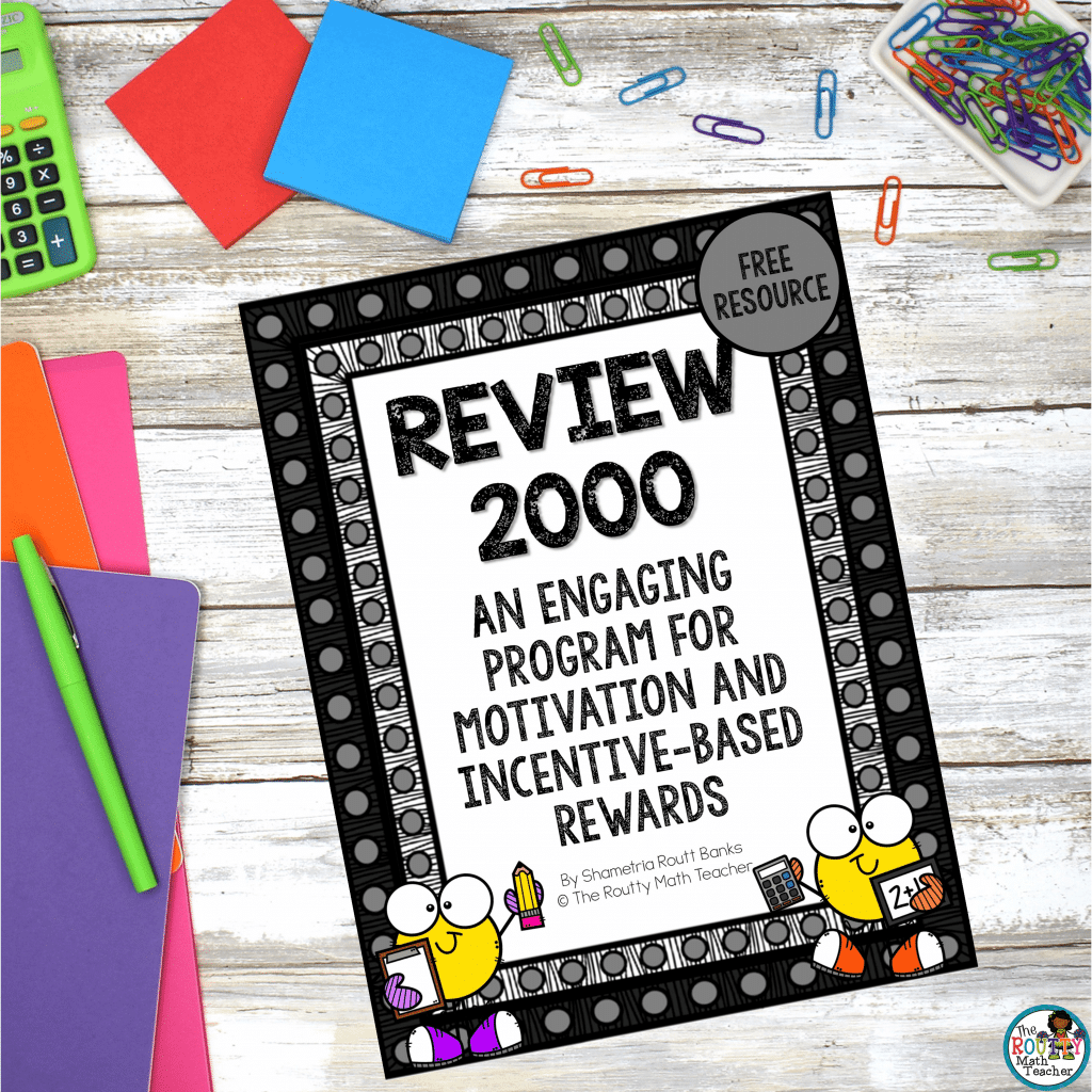 This is the Review 2000 freebie pack.