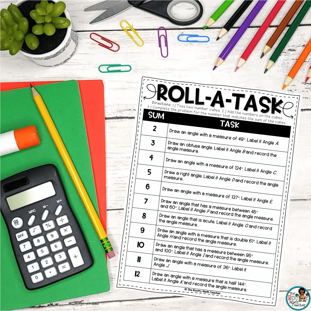 This is the Roll-a-Task activity.]