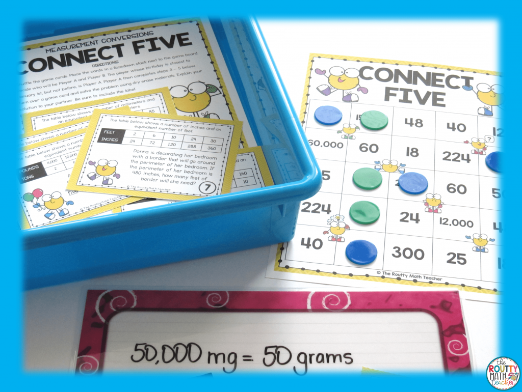 This is an example of a math station rotation activity.
